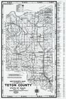 Teton County 1980 to 1996 Mylar, Teton County 1980 to 1996